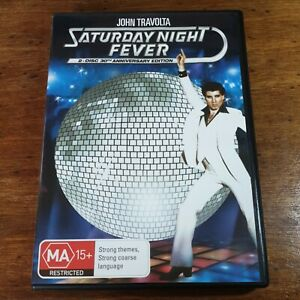 Saturday Night Fever DVD Anniversary Edition R4 LIKE NEW FREE POST