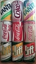 KULT der 80er Jahre: 9 alte Getränke-Dosen LIFT FANTA Coca-Cola Abreißverschluß