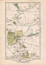 1923 LONDON STREET MAP - ARKLEY,HIGHWOOD HILL,MILL HILL,BARNET GATE