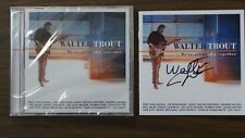"WALTER TROUT-AUTOGRAPHED ""WE'RE ALL IN THIS TOGETHER"" SIGNED CD BOOKLET & NEW CD"