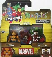 Marvel Action Figure Tigra & Classic Falcon Minimates Diamond Select