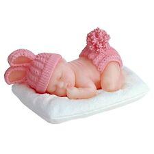 Baby 3D schlafend liegend - Silikonform Fondant Torten Kuchen Backform