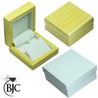 BJC 9 ct Oro Amarillo Diamante Natural Brillante Solitario Cadena Y Colgante P23