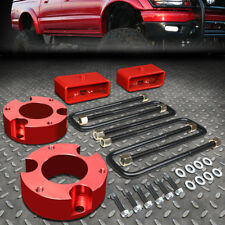 "FOR 2005-2018 TOYOTA TACOMA 2/4WD RED 3""F+2""R SPACERS+BLOCKS LEVELING LIFT KIT"