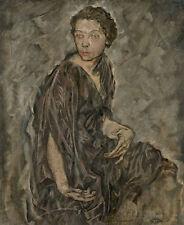Portrait of tortilla Durieux egon schiele actriz austríaca B a3 01628
