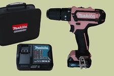 Makita HP331DSAP1 Pink LadyLine 12V 2Ah Akku-Schlagbohrschrauber Tasche Rosa