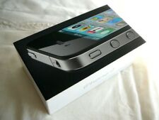 Apple IPhone 4 EMPTY BOX with INSERTS for Black 16GB (iPhone is not included)