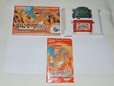 Game Boy Advance JAP Pokemon Fire Red (with wireless adapter) U1402