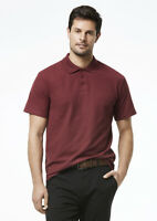 Biz Collection Mens Charger Polo W// Antibacterial Treated Fabric Odour Resists