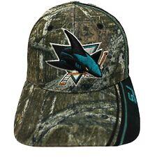 San Jose Sharks Zephyr NHL Hockey Camouflage Hat men Fit Size M/L Micro Mesh Cap