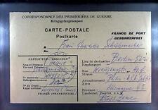 POW Camp 154 Sorgues France 1947 German Prisoner War Kriegsgefangenenpost 161