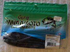 "Gary Yamamoto 5"" California Roll - Black w/ Large Blue Flake"