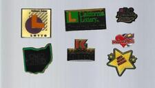VINTAGE U.S. & INTERNATIONAL LOTTERY RELATED LAPEL PINS -  COLLECTION A
