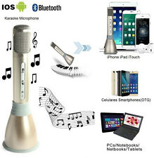 K068 Home KTV Portable Wireless Karaoke Microphone Mic Player Bluetooth Speaker