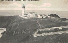Cape Foul Weather Light House,Near Newport,Oregon,Used,1909