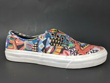 Vans Graphic Patchwork Geometric Skate Board Shoes Womens 8 Mens 6.5
