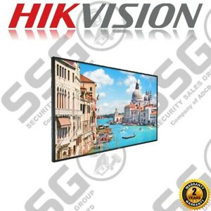 HIKVISION DS-D5055UC 55'' MONITOR 4K @60Hz ULTRA HD HDMI VGA USB RJ45 SPEAKER