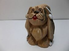 Artesonia Rinconada Lhasa Apso Dog Retired Signed