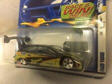 Hot Wheels 1st Edition 2001 Ford Focus Meguiars Drag Car Collector #037 25/36