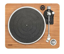 House of Marley EM-JT000-SB Belt Drive Turntable