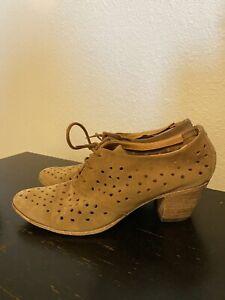 john fluevog Suede Boots Size 8.5