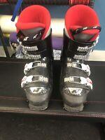 Nordica GP TJ Kids Ski Boots - Size 4.5 / Mondo 22.5 Used