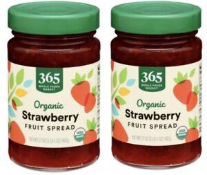 2x365 Whole Foods Market Strawberry Organic 17oz