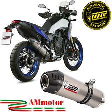 Mivv Yamaha Tenere 700 2019 19 Terminale Di Scarico Moto Oval Titanio Carbon Cap