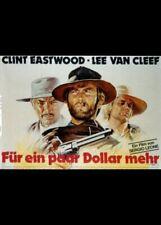 affiche du film ET POUR QUELQUES DOLLARS DE PLUS 80x120 cm