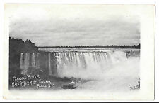 Canadian Falls & Maid of the Mist, NY Early Card PPC Unposted, Undivided Back