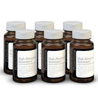 resveratrolo - GRANDE 1000mg - 18 Months SCORTA - Autentico & Puro - ALTO