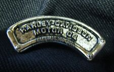 CHROME HARLEY-DAVIDSON MOTOR CO. MOTORCYCLE BIKER VEST PIN