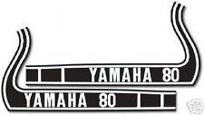1973 YAMAHA GTMX FUEL TANK DECALS