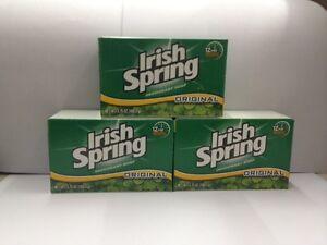 Irish Spring Deodorant Soap Bar (Original) 3x