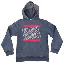 AMPLIFIED RUN DMC STRASS Hip Rock Star Sweater Kapuzen Pulli Pullover Hoodie XL