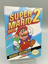 Nintendo NES Super Mario Bros 2 Box Only - Fast Shipping