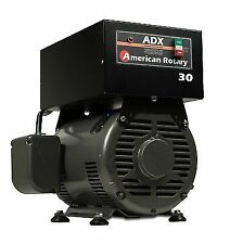 American Rotary Phase Converter Adx30 1 to 3 Phase Extreme Duty Great