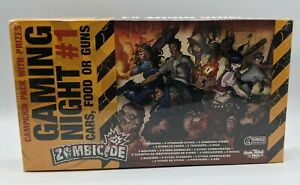 ZOMBICIDE Gaming Night #1 Cars, Food or Guns Kyoko Minis Campaign Pack w/ Prizes