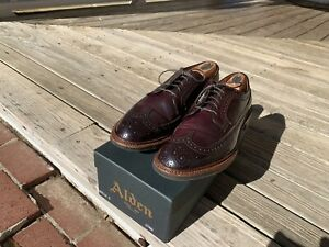 Alden  Longwings Color 8 With Commando Sole- The Ultimate Longwings!