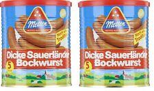 12 Dosen A 400g Metten dicke Sauerländer Bockwurst Made In Germany