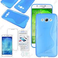 Housse Etui Coque Silicone Motif S-line Gel Souple Samsung Galaxy A8 SM-A800F