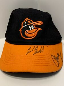 Nick Markakis Signed Baltimore Orioles Hat / Cap with 1 other signature