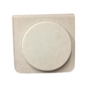 For Fujifilm Instax Square SQ6 Instant Film Camera Case Cover PU Bag Shell White