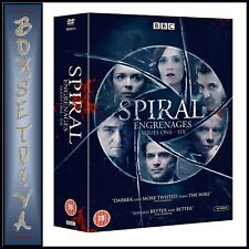 SPIRAL COMPLETE SERIES 1 2 3 4 5 & 6  *** BRAND NEW DVD BOXSET