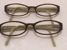 Coach Lot 2 WomenEyeglasses Adelle 534 Brown/Camel 52-16-135 Rx Glasses Frames