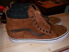 NEW ! VANS HIGH TOP U.S SIZE 11 LEATHER SUEDE UPPER $109 CDN FREE SHIP CANADA!