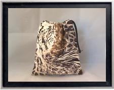 Gymnastics Leotard Grip Bags / Exotic Animal Print Gymnast Birthday Goody Bag