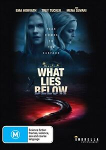 WHAT LIES BELOW DVD, NEW & SEALED ** NEW RELEASE ** 050521, FREE POST