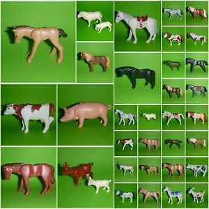 Playmobil Tier Tiere Bauernhof - Pferd Pony Kuh Schwein Schaf - zum Aussuchen