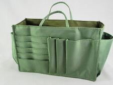 Lady Handbag Purse Tote Bag Organizer Insert Divider Item #J6-Green